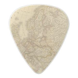 Sweden, Norway, and Demark Acetal Guitar Pick