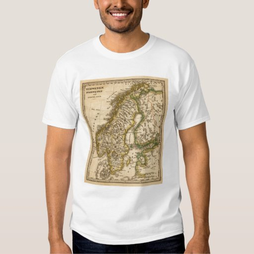Sweden, Norway, and Finland T-shirts