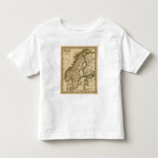 Sweden, Norway, and Finland Toddler T-shirt