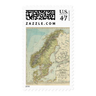 Sweden, Norway, Denmark Postage