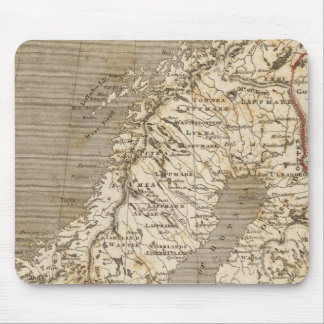 Sweden, Norway Map by Arrowsmith Mouse Pad