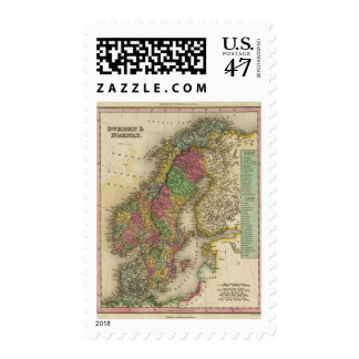 Sweden & Norway Postage