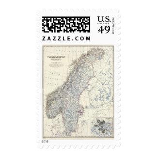 Sweden, Norway Postage Stamps