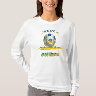 Sweden on Fire Ladies Long Sleeve Shirt