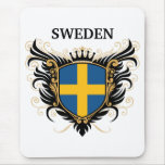 Sweden [personalize] mouse pad
