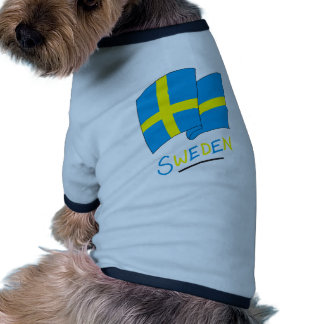 Sweden Pet Tee Shirt