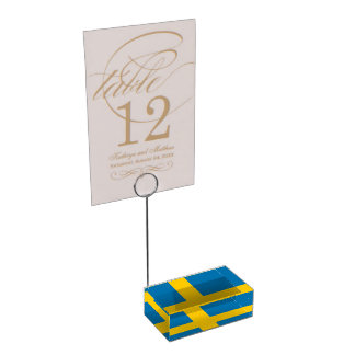 Sweden Place Card Holder