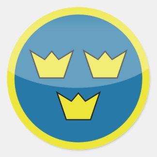sweden roundel sticker