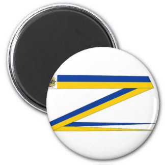 Sweden Royal Pennant 2 Inch Round Magnet