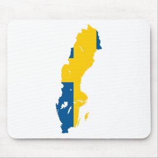 Sweden SE Mouse Pad