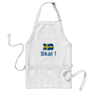 Sweden Skal! Adult Apron