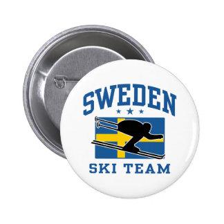 Sweden Ski Team Pin