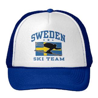 Sweden Ski Team Trucker Hat