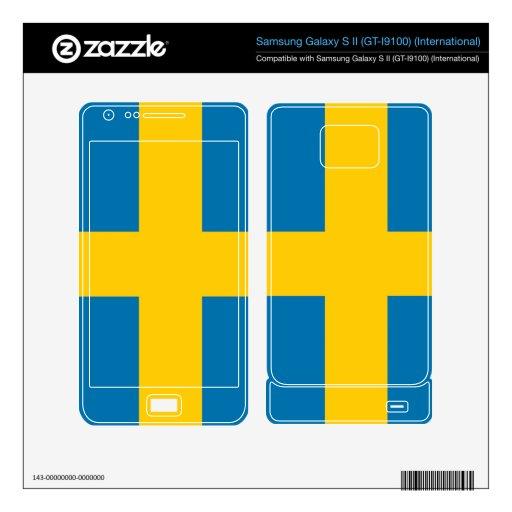 Sweden Samsung Galaxy S II Decal