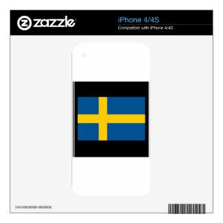 Sweden Skins For iPhone 4
