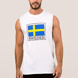 Sweden Sleeveless T-shirt