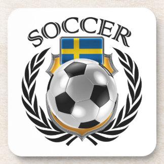 Sweden Soccer 2016 Fan Gear Beverage Coaster