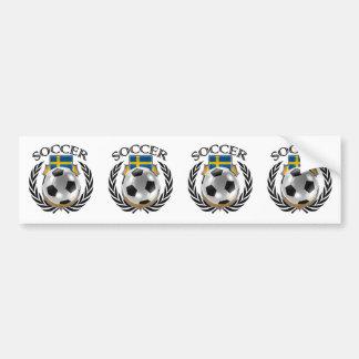 Sweden Soccer 2016 Fan Gear Bumper Sticker
