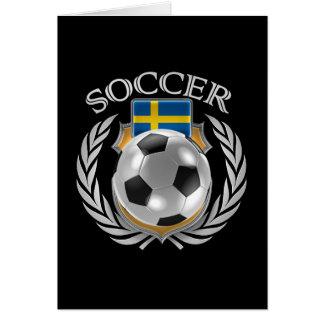 Sweden Soccer 2016 Fan Gear Card