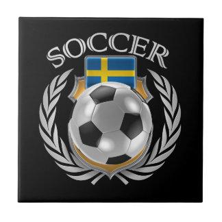 Sweden Soccer 2016 Fan Gear Ceramic Tile
