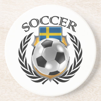 Sweden Soccer 2016 Fan Gear Coaster