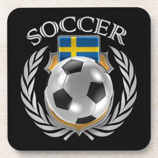 Sweden Soccer 2016 Fan Gear Coaster