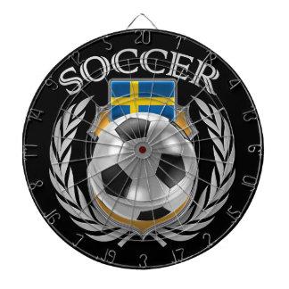 Sweden Soccer 2016 Fan Gear Dartboard