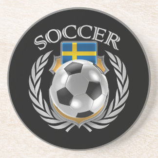 Sweden Soccer 2016 Fan Gear Drink Coaster