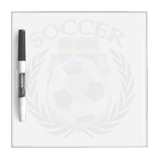 Sweden Soccer 2016 Fan Gear Dry-Erase Board