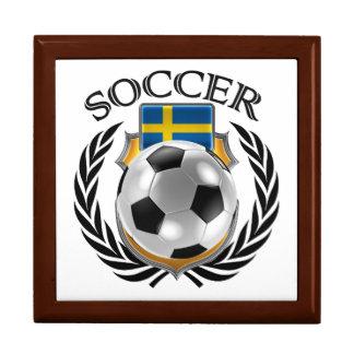 Sweden Soccer 2016 Fan Gear Jewelry Box