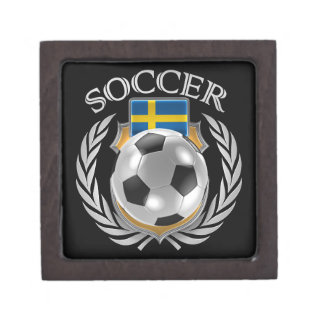 Sweden Soccer 2016 Fan Gear Keepsake Box