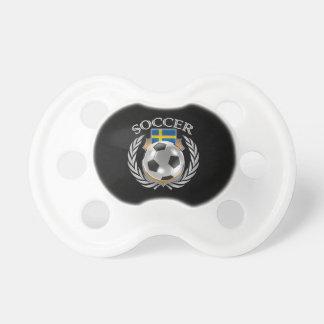 Sweden Soccer 2016 Fan Gear Pacifier