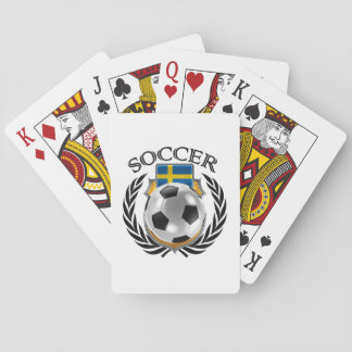 Sweden Soccer 2016 Fan Gear Playing Cards