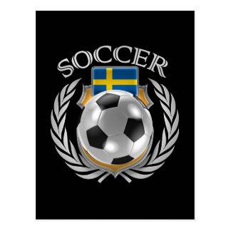 Sweden Soccer 2016 Fan Gear Postcard