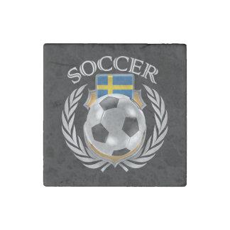 Sweden Soccer 2016 Fan Gear Stone Magnet