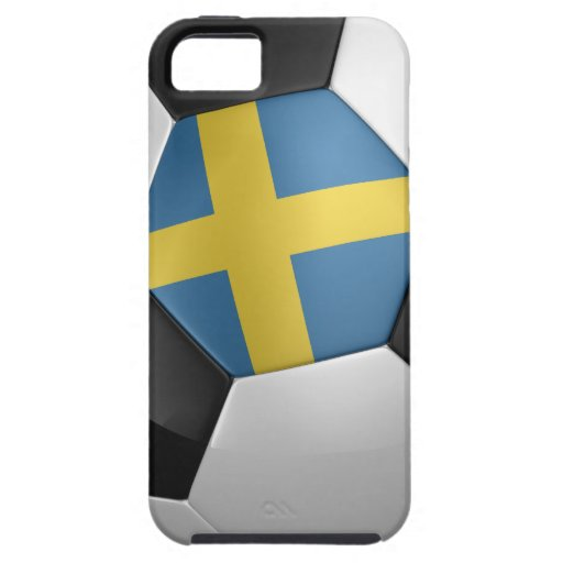 Sweden Soccer Ball iPhone 5 Covers