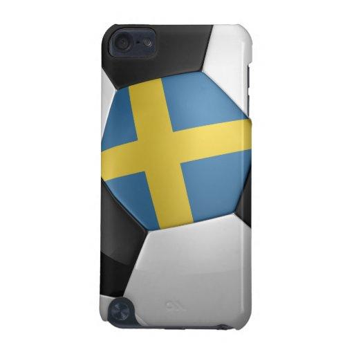 Sweden Soccer Ball iPod Touch 5G Cases