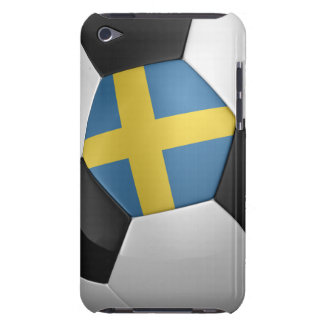 Sweden Soccer Ball iPod Touch Covers