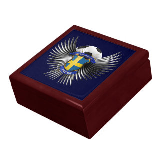 Sweden Soccer Champions Jewelry Box