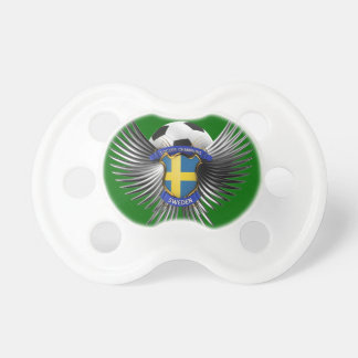 Sweden Soccer Champions Baby Pacifiers