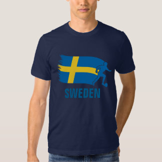 Sweden Soccer Flag Shirt