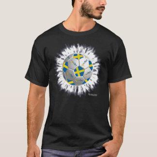 Sweden Soccer Flagball Men's Colored Shirt