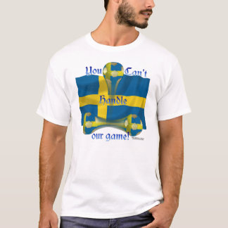 Sweden Soccer Game On Men's Tee