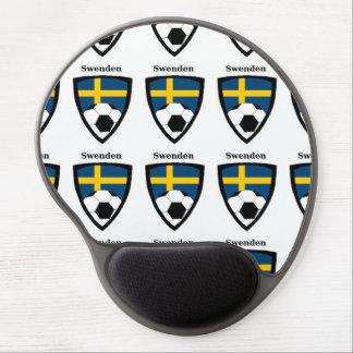 Sweden Soccer Gel Mouse Mat
