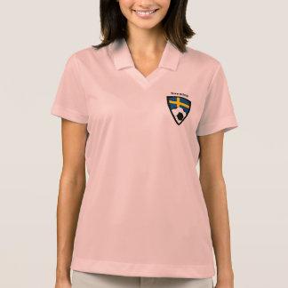 Sweden Soccer Polo Shirt