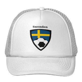 Sweden Soccer Trucker Hat