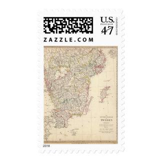 Sweden, southern 2 postage stamp