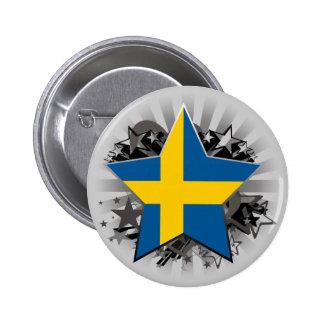 Sweden Star Button