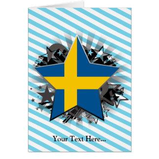 Sweden Star Card