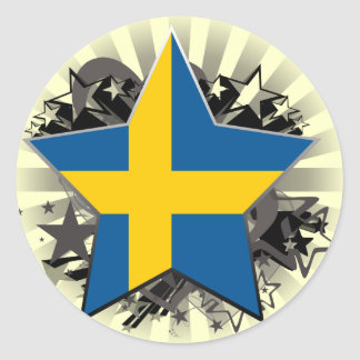 Sweden Star Sticker